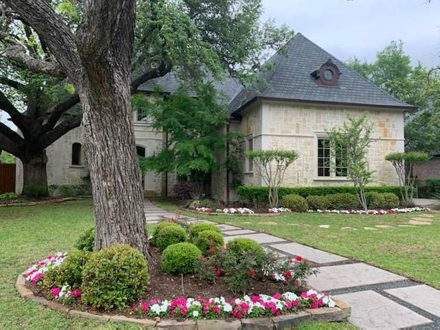 6607 Norway Road, Dallas, TX 75230 (MLS #14318438) :: Real Estate By Design