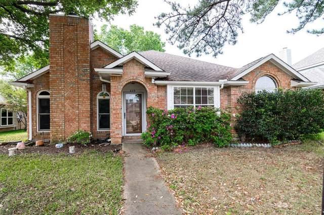 609 Teakwood Drive, Flower Mound, TX 75028 (MLS #14318986) :: The Rhodes Team