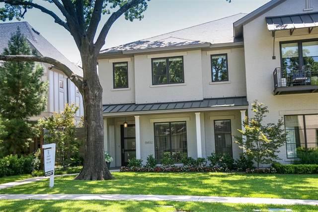 6632 Del Norte Lane, Dallas, TX 75225 (MLS #14322882) :: Frankie Arthur Real Estate