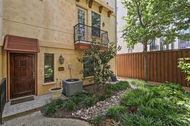 1018 Pavillion Street, Dallas, TX 75204 (MLS #14323581) :: HergGroup Dallas-Fort Worth