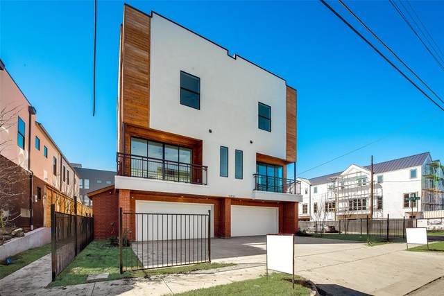 1931 N Prairie Avenue #1, Dallas, TX 75204 (MLS #14324593) :: North Texas Team | RE/MAX Lifestyle Property