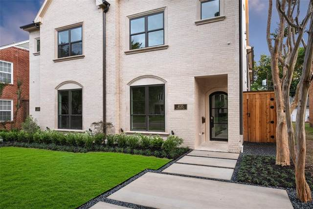 4135 Normandy Avenue, University Park, TX 75205 (MLS #14330842) :: The Hornburg Real Estate Group