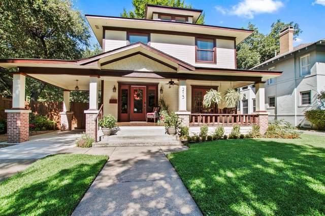 213 N Montclair Avenue, Dallas, TX 75208 (MLS #14330984) :: Frankie Arthur Real Estate