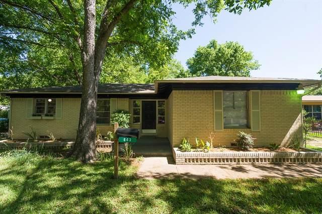 643 W Main Street, Lancaster, TX 75146 (MLS #14331334) :: Team Tiller