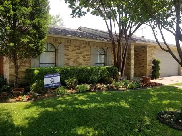 801 Grassy Glen Drive, Allen, TX 75002 (MLS #14333615) :: The Heyl Group at Keller Williams