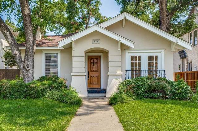 5515 Goodwin Avenue, Dallas, TX 75206 (MLS #14334341) :: The Heyl Group at Keller Williams
