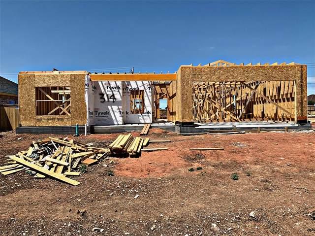 314 Sweet Pea Path, Abilene, TX 79602 (MLS #14334615) :: Ann Carr Real Estate