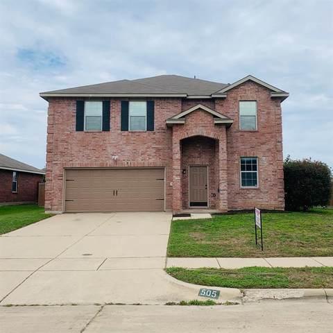 505 Paddle Drive, Crowley, TX 76036 (MLS #14343376) :: Keller Williams Realty