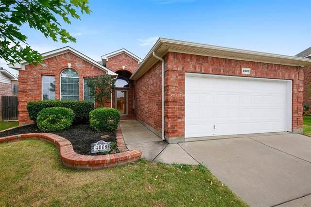 4008 Claymore Lane, Fort Worth, TX 76244 (MLS #14343578) :: The Mauelshagen Group
