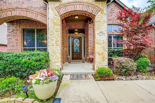 447 Bristol Street, Roanoke, TX 76262 (MLS #14345689) :: The Kimberly Davis Group