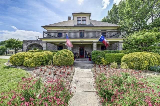 1002 S Hatcher Street, Decatur, TX 76234 (MLS #14345871) :: The Paula Jones Team | RE/MAX of Abilene