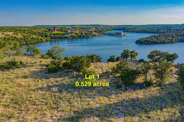 Lot 1 Hell's Gate Drive, Possum Kingdom Lake, TX 76449 (MLS #14346274) :: Keller Williams Realty