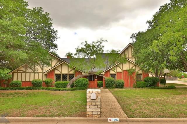 1202 Canterbury Drive, Abilene, TX 79602 (MLS #14351566) :: All Cities USA Realty