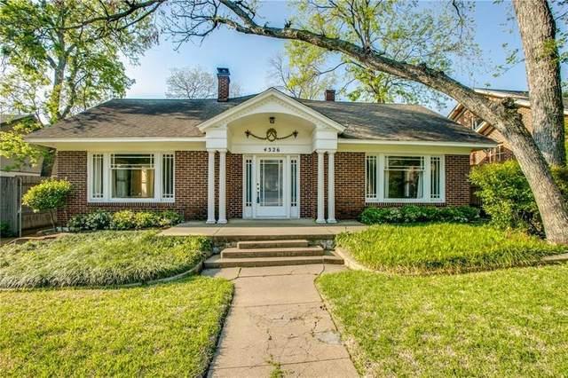 4326 Avondale Avenue, Dallas, TX 75219 (MLS #14352185) :: Maegan Brest | Keller Williams Realty
