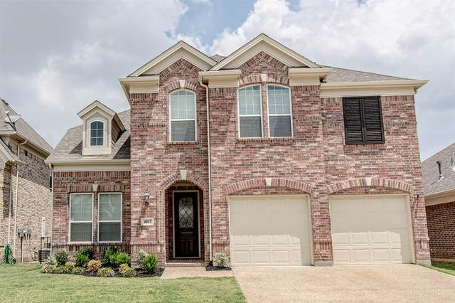 4017 Silk Vine Court, Fort Worth, TX 76262 (MLS #14356228) :: NewHomePrograms.com LLC