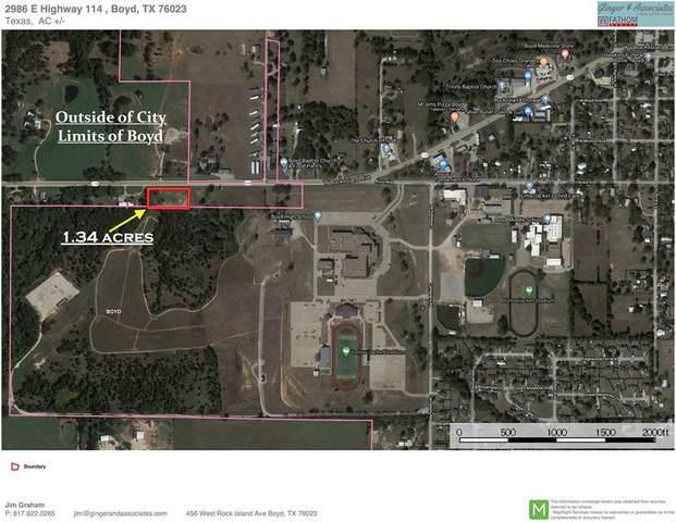 2986 E Highway 114, Boyd, TX 76023 (MLS #14362459) :: Team Tiller
