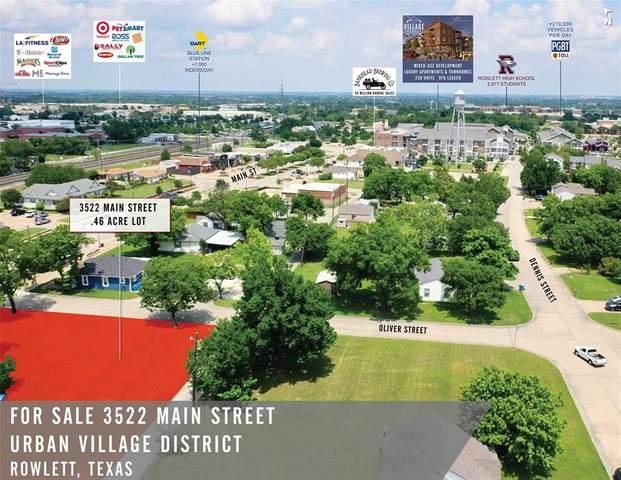3522 Main Street, Rowlett, TX 75088 (MLS #14367609) :: The Kimberly Davis Group