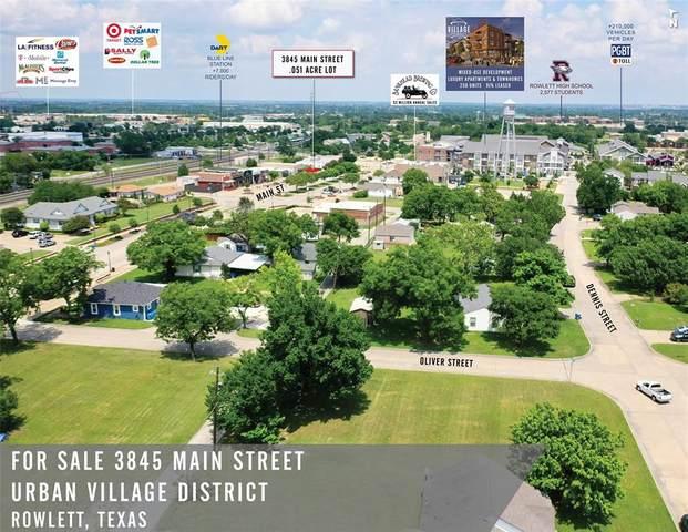 3845 Main Street, Rowlett, TX 75088 (MLS #14367638) :: The Kimberly Davis Group
