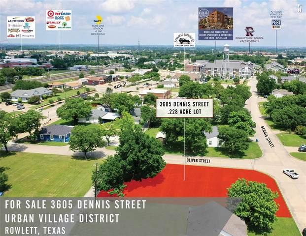 3605 Dennis Street, Rowlett, TX 75088 (MLS #14367681) :: VIVO Realty