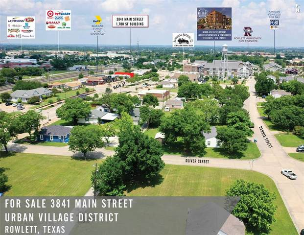 3841 Main Street, Rowlett, TX 75088 (MLS #14369135) :: The Kimberly Davis Group