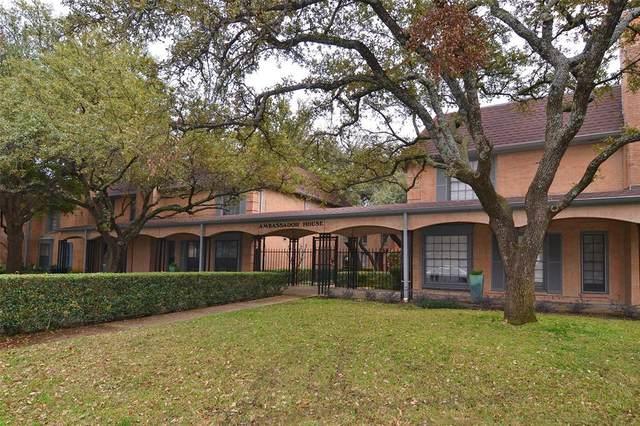 7830 Meadow Park Drive #210, Dallas, TX 75230 (MLS #14374025) :: The Mauelshagen Group