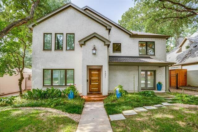 5431 Emerson Avenue, Dallas, TX 75209 (MLS #14374275) :: The Daniel Team