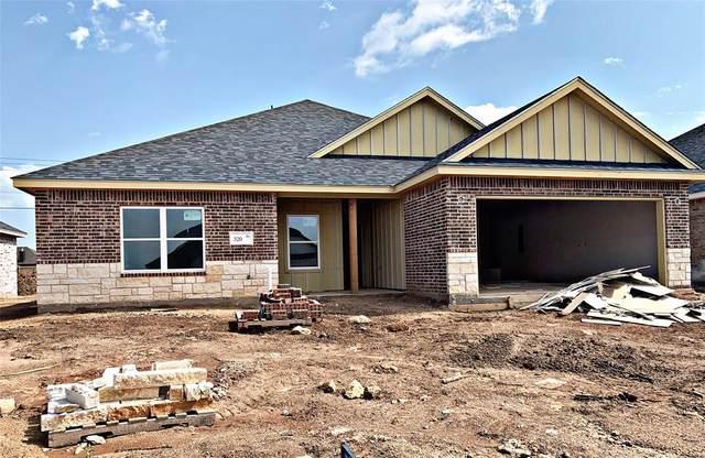 320 Sweet Pea Path, Abilene, TX 79602 (MLS #14375093) :: ACR- ANN CARR REALTORS®