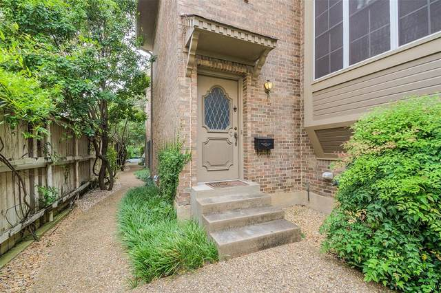 3412 Potomac Avenue 3412C, University Park, TX 75205 (MLS #14375548) :: EXIT Realty Elite