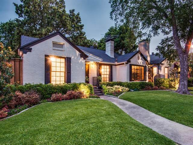 5806 Palm Lane, Dallas, TX 75206 (MLS #14377720) :: Justin Bassett Realty