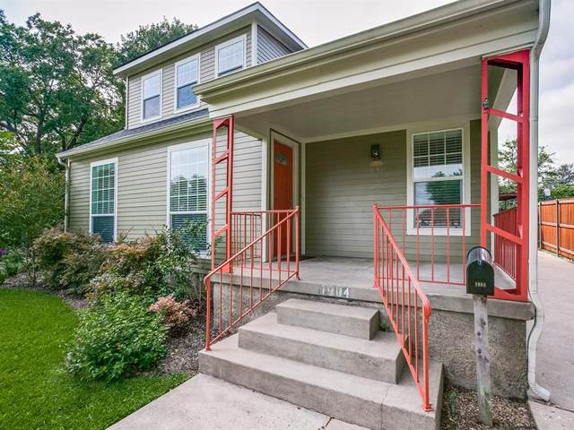 1904 Tennessee Avenue, Dallas, TX 75224 (MLS #14379559) :: All Cities USA Realty