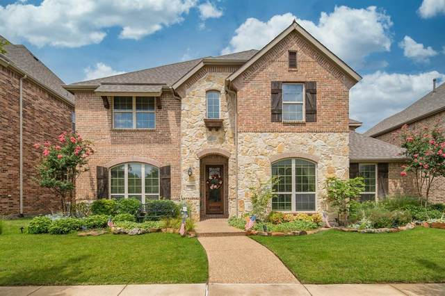 512 Four Stones Boulevard, Lewisville, TX 75056 (MLS #14380592) :: The Mitchell Group