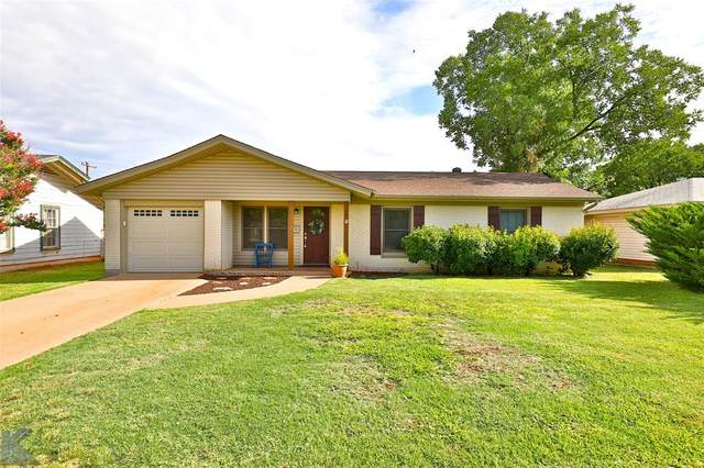 3236 Sandefer Street, Abilene, TX 79603 (MLS #14380884) :: Baldree Home Team