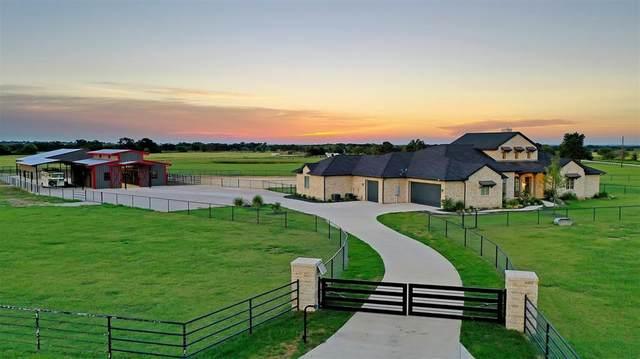 12451 Foutch Road, Pilot Point, TX 76258 (MLS #14384859) :: The Good Home Team