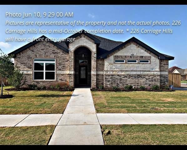 226 Carriage Hills Pkwy, Abilene, TX 79602 (MLS #14389259) :: ACR- ANN CARR REALTORS®