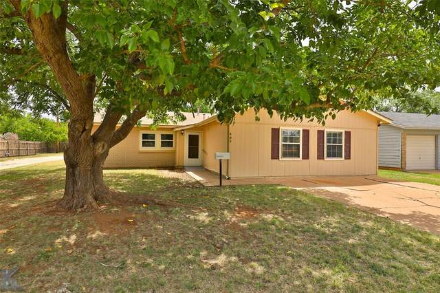 609 S Bowie Drive, Abilene, TX 79605 (MLS #14391160) :: The Mitchell Group