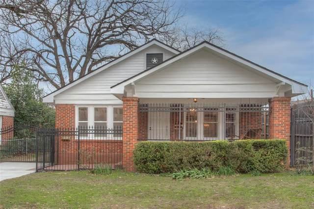 1400 Montgomery Street, Fort Worth, TX 76107 (MLS #14400499) :: Team Hodnett