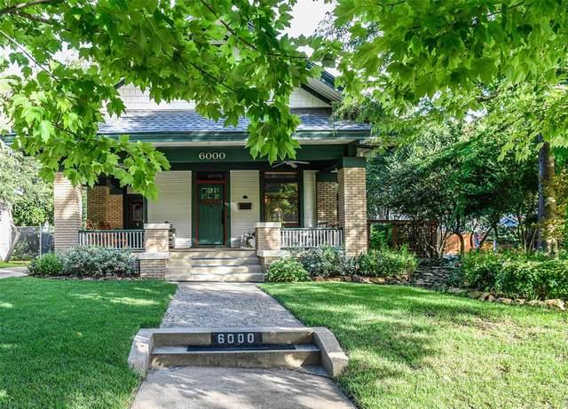 6000 Bryan Parkway, Dallas, TX 75206 (MLS #14402794) :: Results Property Group