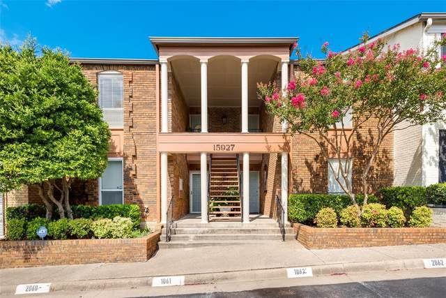 15927 Coolwood Drive #2061, Dallas, TX 75248 (MLS #14404417) :: EXIT Realty Elite