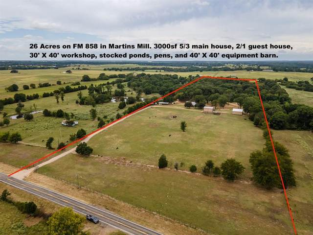 15250 Fm 858, Athens, TX 75752 (MLS #14423420) :: The Kimberly Davis Group