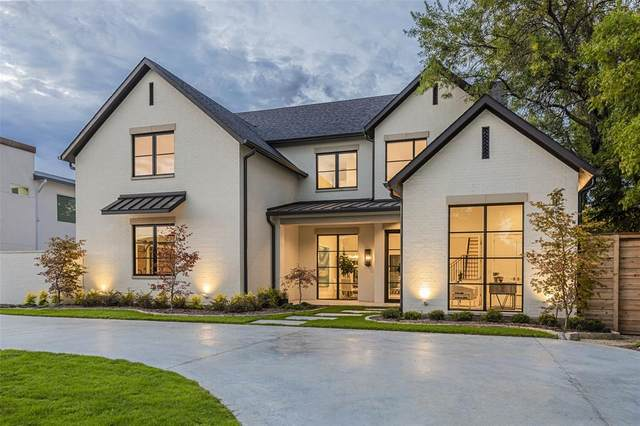 6015 Burgundy Road, Dallas, TX 75230 (MLS #14423884) :: Potts Realty Group