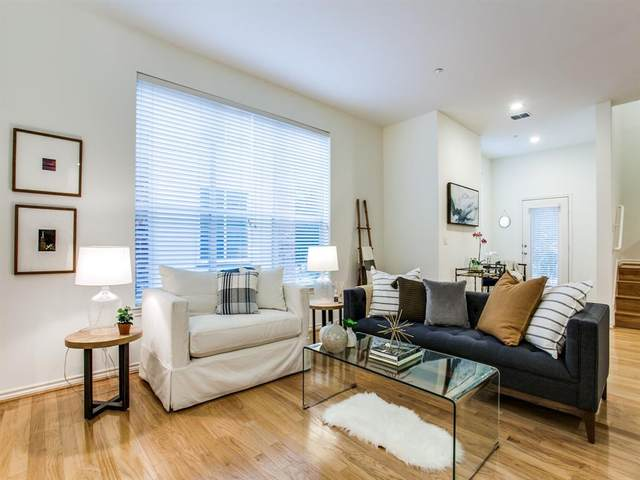 4307 Mckinney Avenue #10, Dallas, TX 75205 (MLS #14424518) :: Frankie Arthur Real Estate