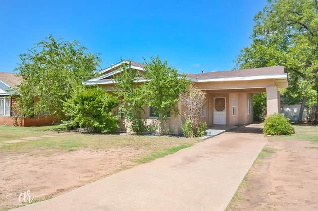 1810 Sandefer Street, Abilene, TX 79603 (MLS #14426110) :: Team Tiller