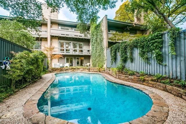 4024 Buena Vista Street, Dallas, TX 75204 (MLS #14428402) :: The Hornburg Real Estate Group