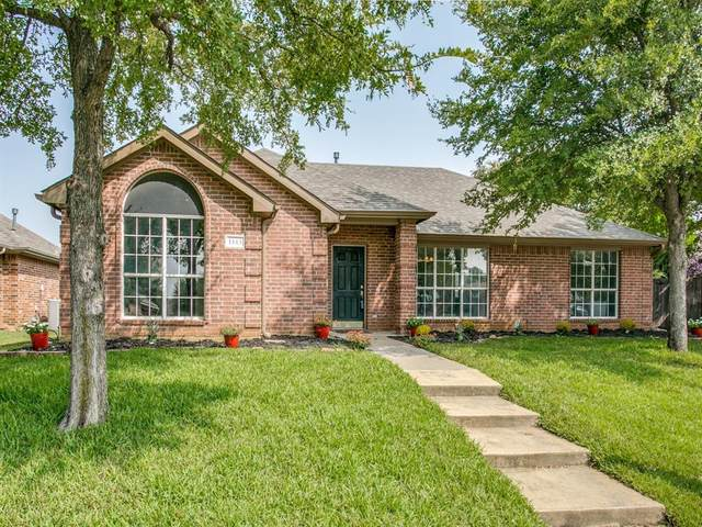 1445 Jewels Way, Lewisville, TX 75067 (MLS #14428759) :: The Mitchell Group