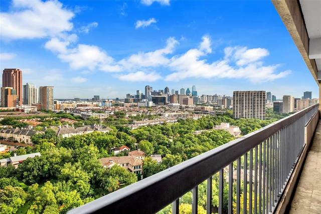 3831 Turtle Creek Boulevard 19A, Dallas, TX 75219 (MLS #14429540) :: Frankie Arthur Real Estate