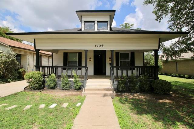 5326 Houghton Avenue, Fort Worth, TX 76107 (MLS #14431292) :: The Daniel Team