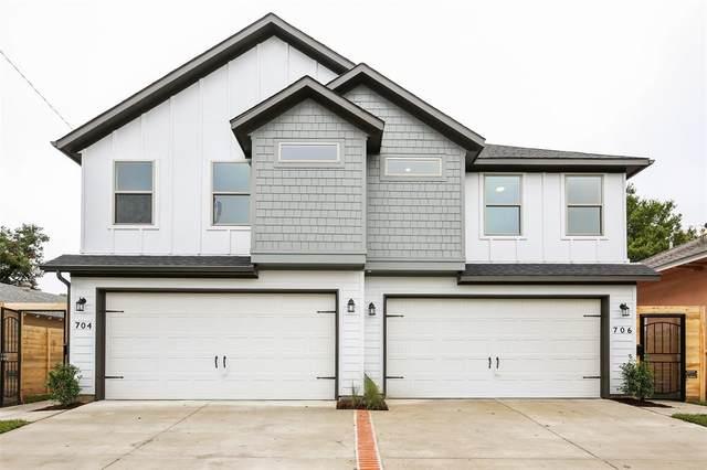 704 S Glasgow Drive, Dallas, TX 75223 (MLS #14435504) :: The Hornburg Real Estate Group
