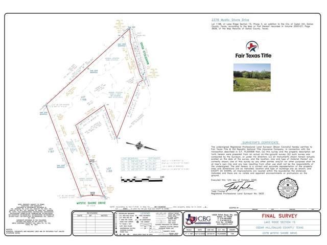 2378 Mystic Shore Drive, Cedar Hill, TX 75104 (MLS #14437367) :: Real Estate By Design