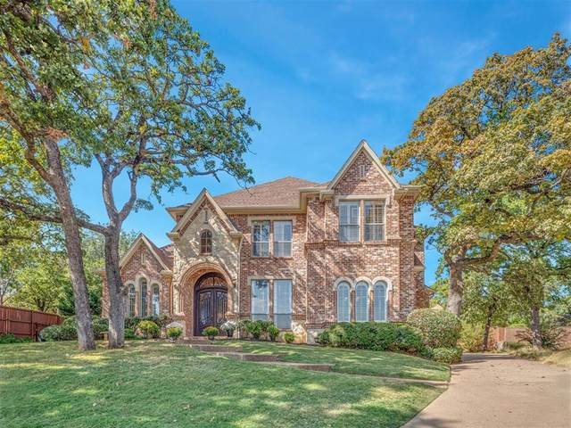 3902 High Point Drive, Grapevine, TX 76051 (MLS #14437795) :: Real Estate By Design