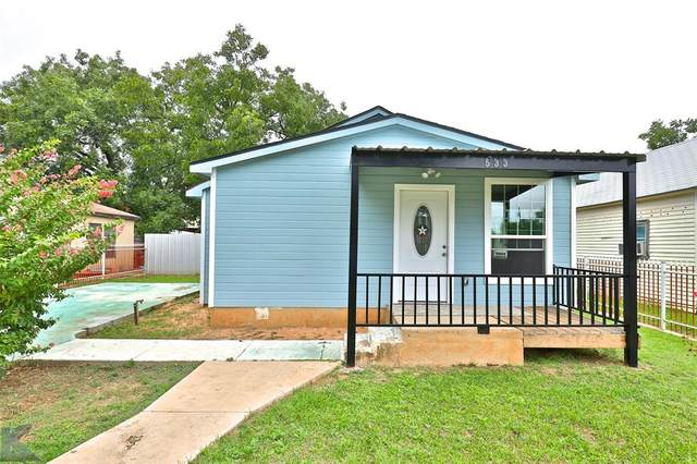533 Cherry Street, Abilene, TX 79602 (MLS #14439667) :: The Mitchell Group